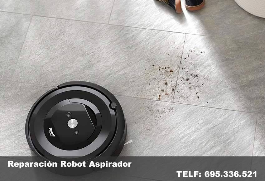 reparación robot aspirador Rocafort