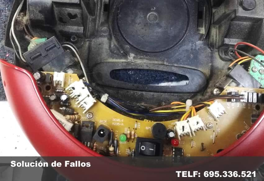 reparar robot aspirador Rocafort